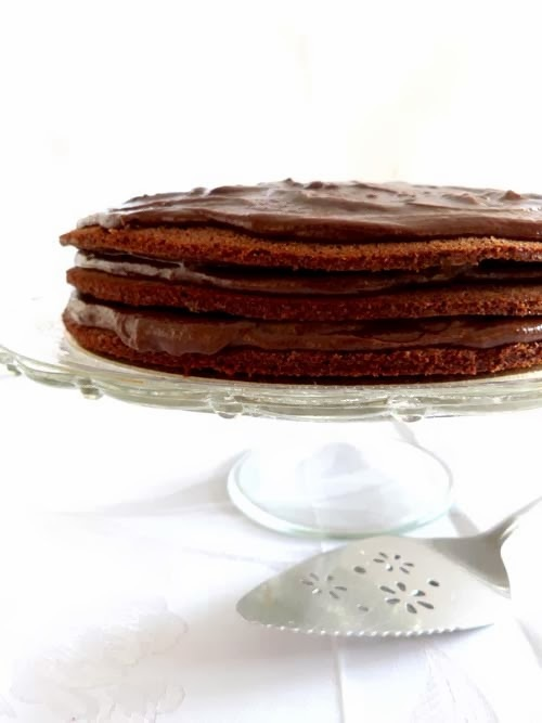 torta de chocolate | mitad sueca mitad argentina
