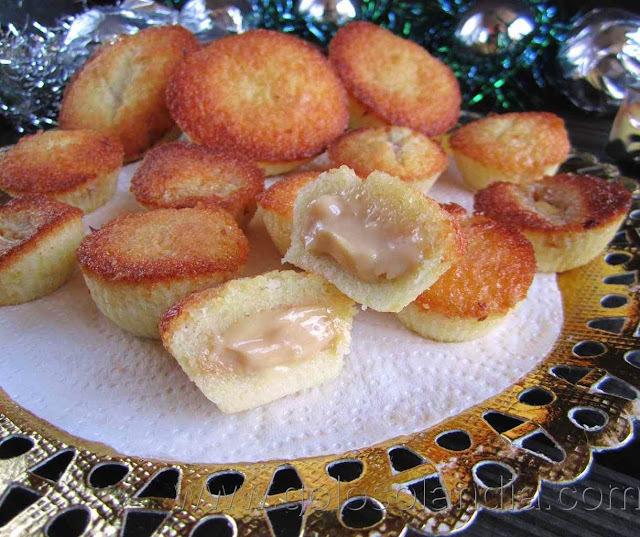 Muffins de turrón