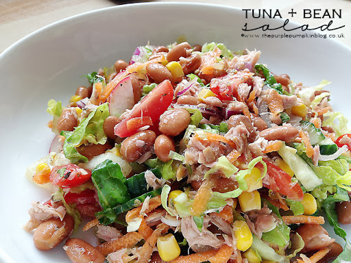 Tuna + Bean Salad