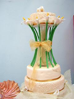 torta fria con plantillas y pudin