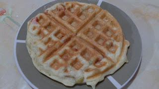 Waffle salgado