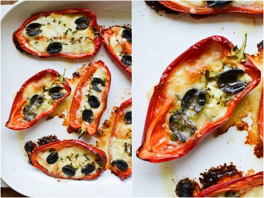Středomořské zapékané papriky