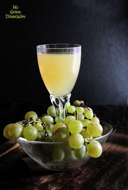 Zumo de uva natural {Thermomix}