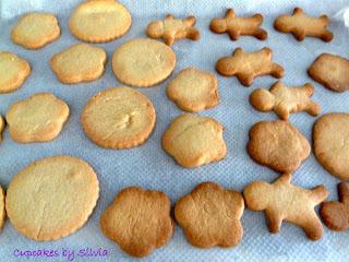 Galetes de mantega / Butter cookies