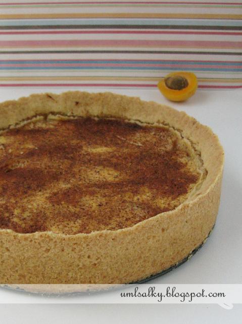 Meruňkovo - pomerančový koláč