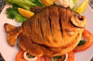 de peixe pacu frito ou assado