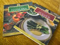 Livros: Le Cordon Bleu receitas caseiras - Molho e Pastelaria