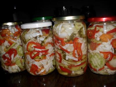 Šarena salata za zimu (paterizovana)