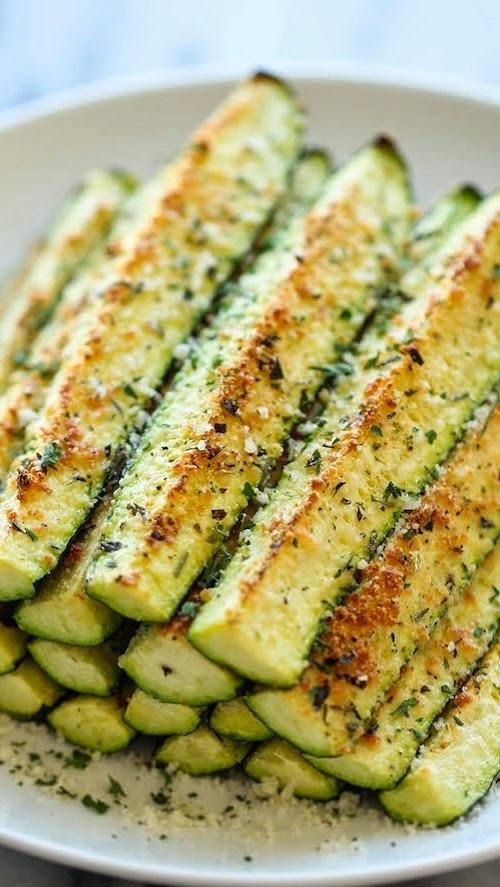Zucchini gratinado