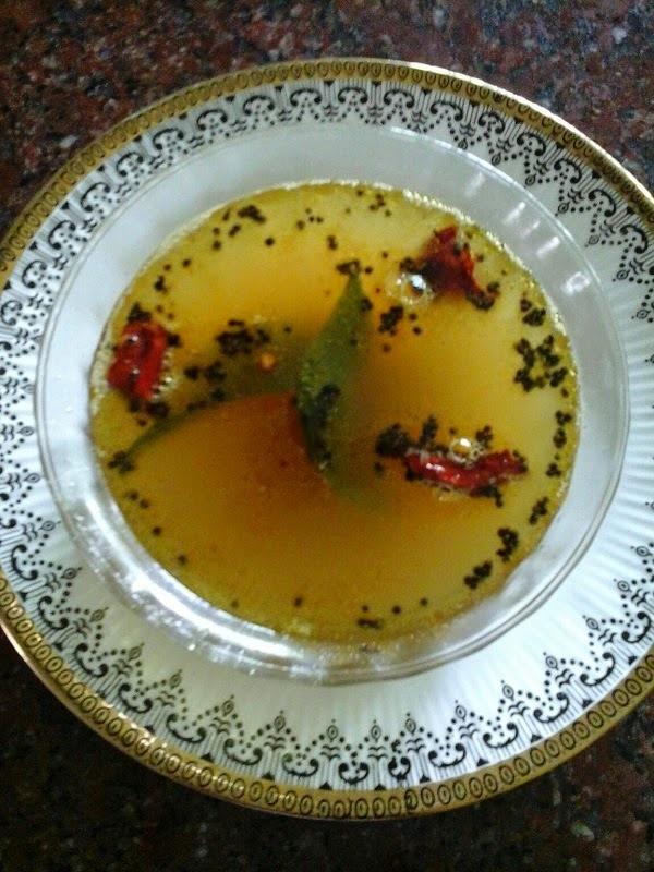 Goddu Rasam / Godsaaru - Watery Tamarind Soup
