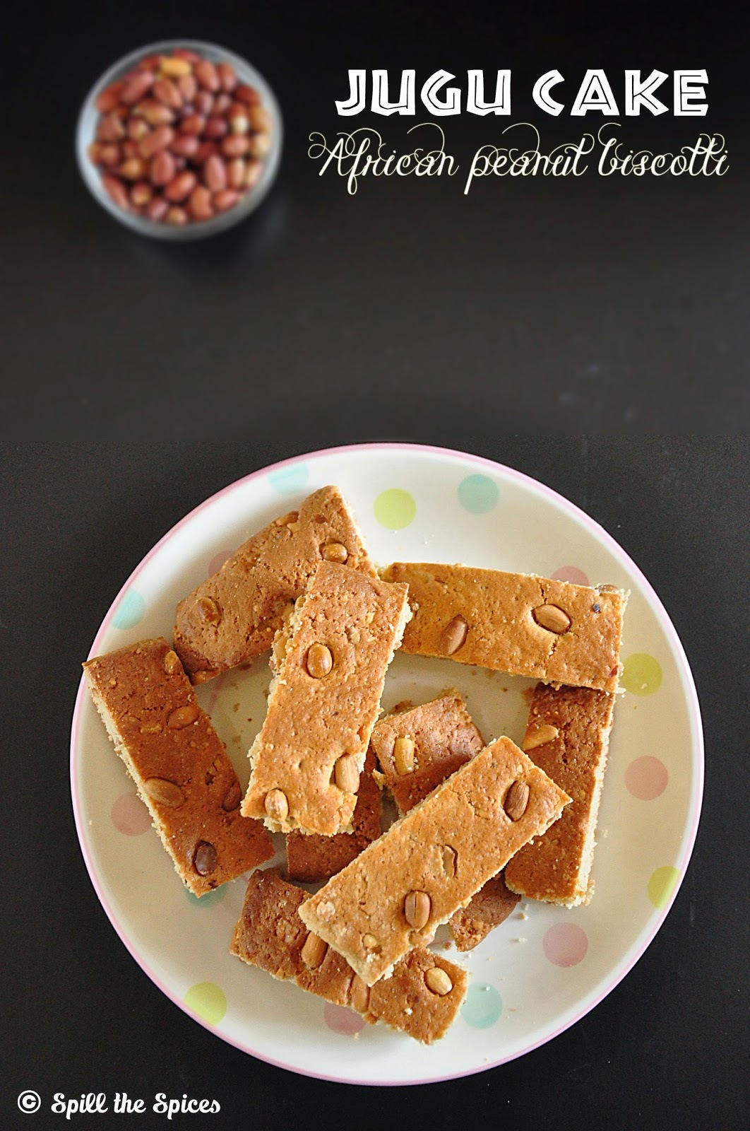 Jugu Cake | African Peanut Biscotti