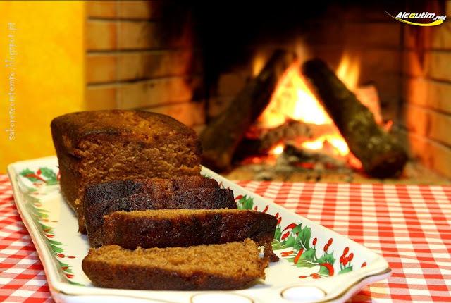 Bolo de Massa do Pão... e votos de um Feliz Natal