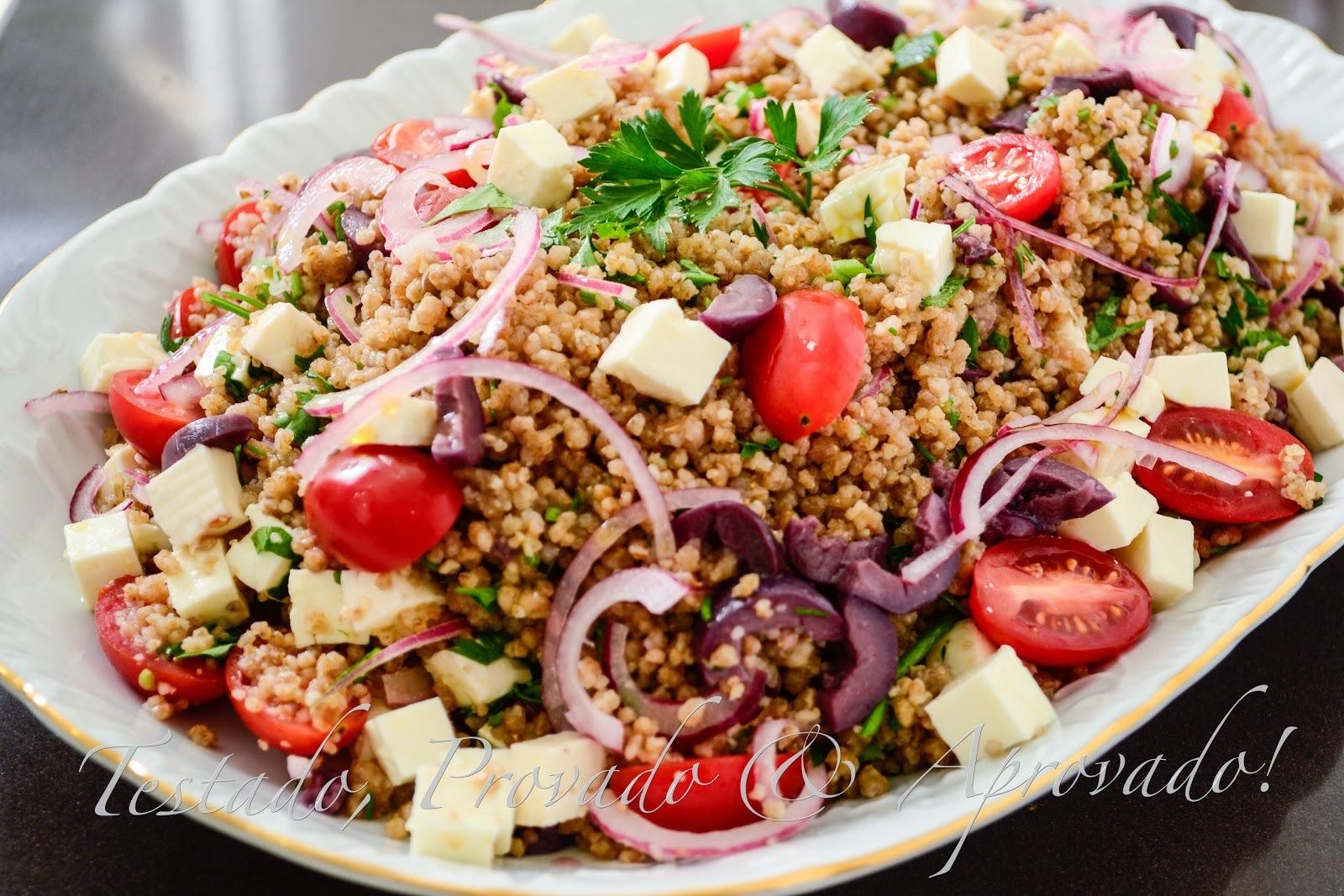 MAFTOUL, o cuscuz que veio da Palestina - Desafio Daring Cooks - Maio / 2014