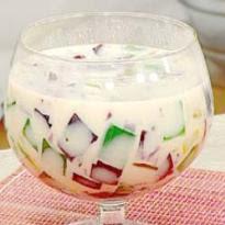 facil de gelatina coloridano colorida no copinho