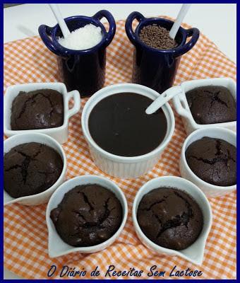 Brownie de Chocolate e Amêndoas Sem Glúten Sem Lactose