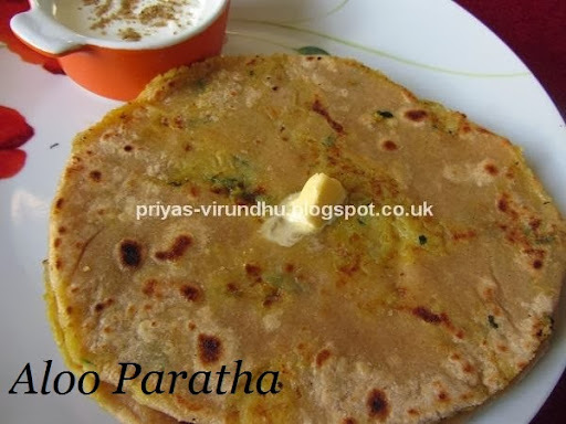 Aloo Paratha/Potato Paratha