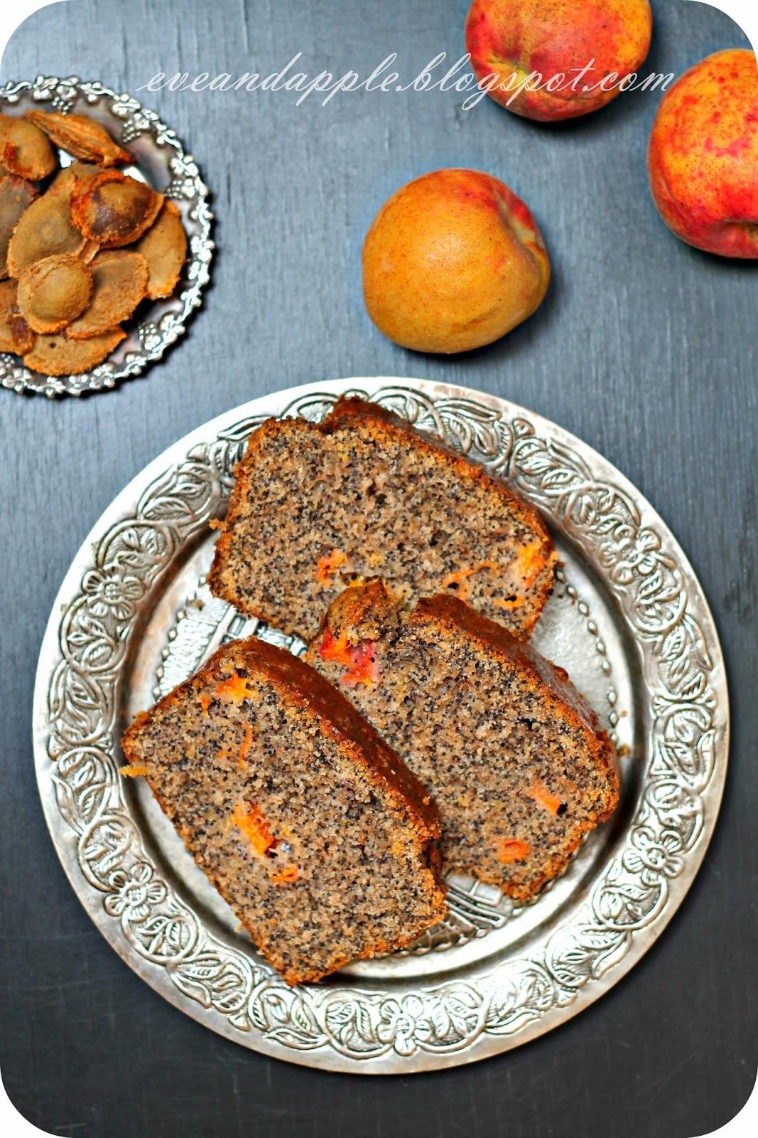 Voćni kolač sa makom i kajsijama