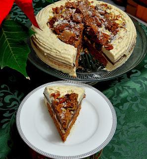 Torta sa bavarskom kremom i milka cokoladom