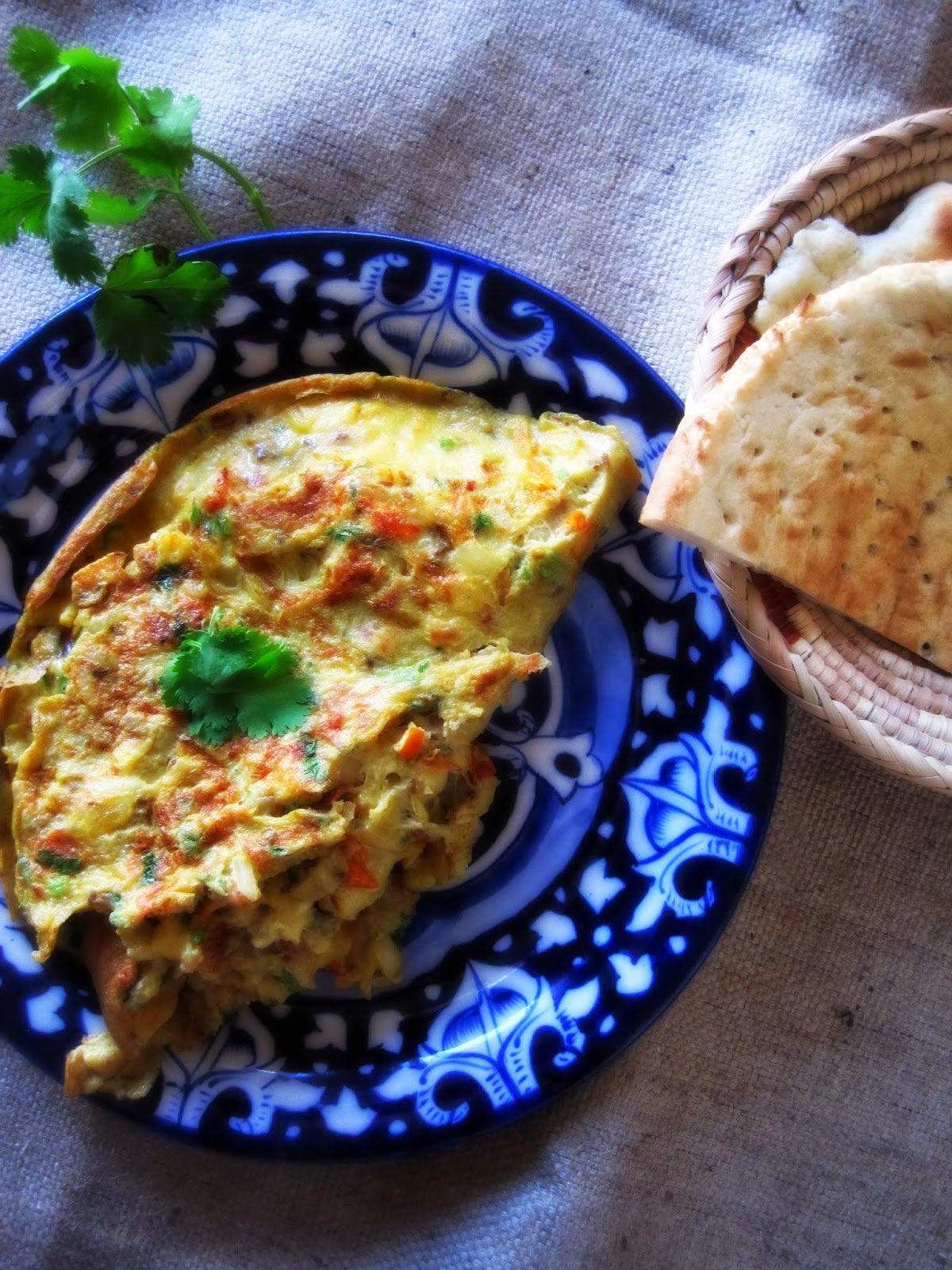 desi omelette; the perfect weekend brunch