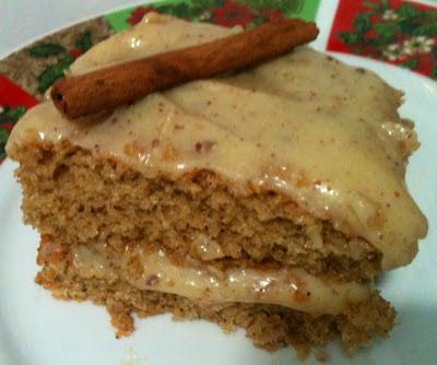 bolo indiano com farinha de rosca e canela