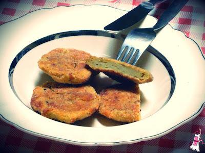 Reciclando comida: Croquetas de puré de batatas