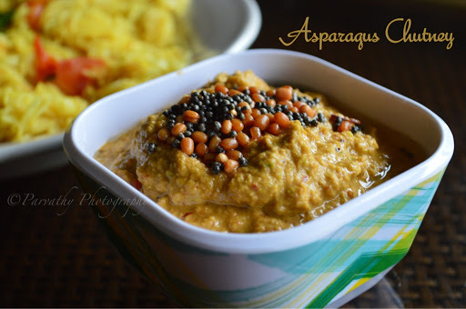 Asparagus Chutney Recipe