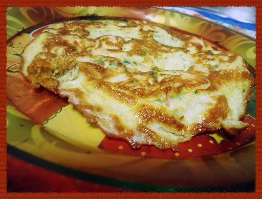 Receita: Omelete de Camarão