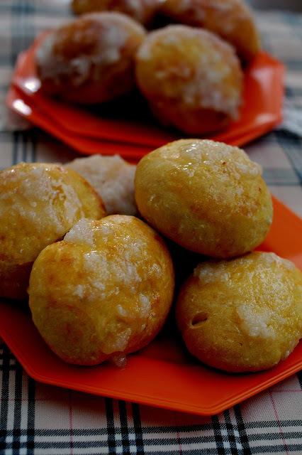 Pão de abóbora com coco