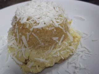 pudim de tapioca granulada gelado