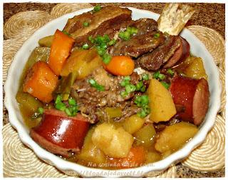 de verduras cozidas