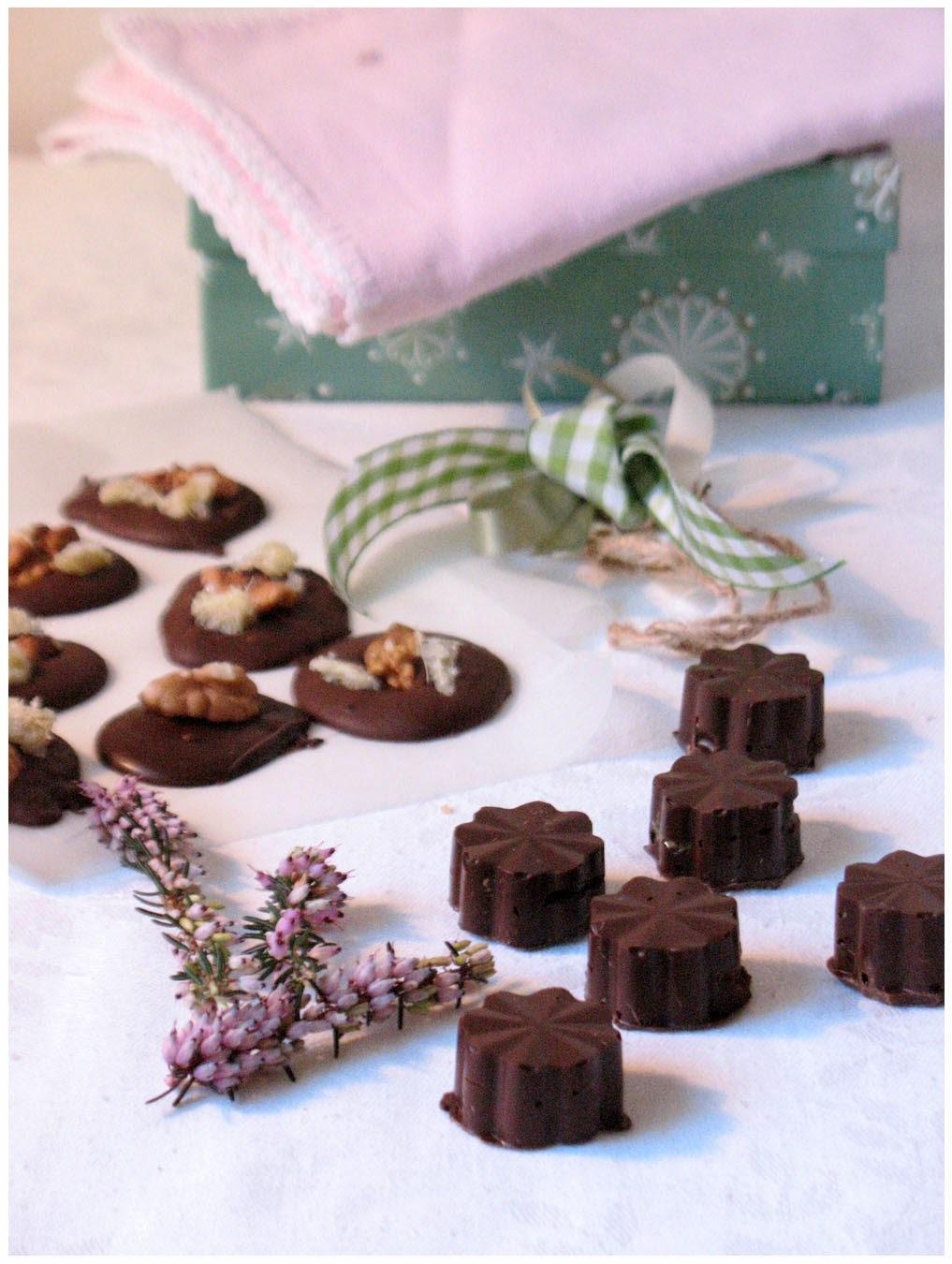 Čokoladne praline s pastom od bučinih sjemenki, mendiants i temperiranje čokolade / Chocolate pralines with pumpkin seed paste, mendiants & tempering chocolate