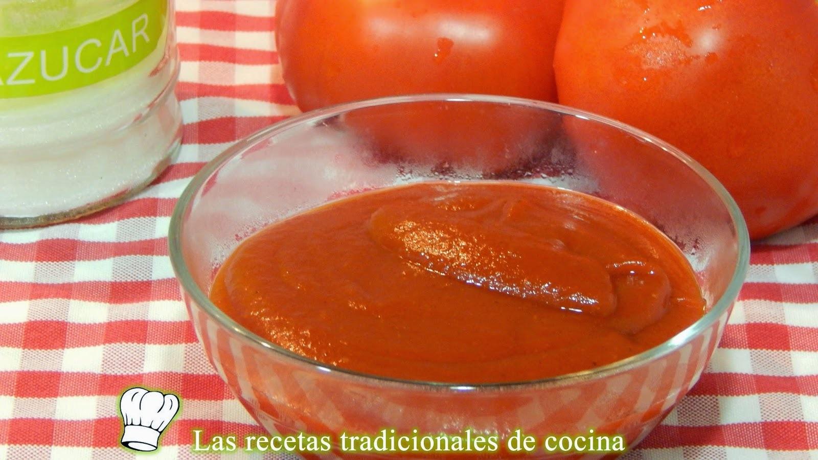 Receta de salsa ketchup casera