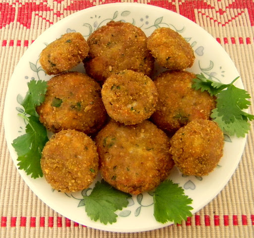 Broken Wheat and Cottage cheese Cutlets