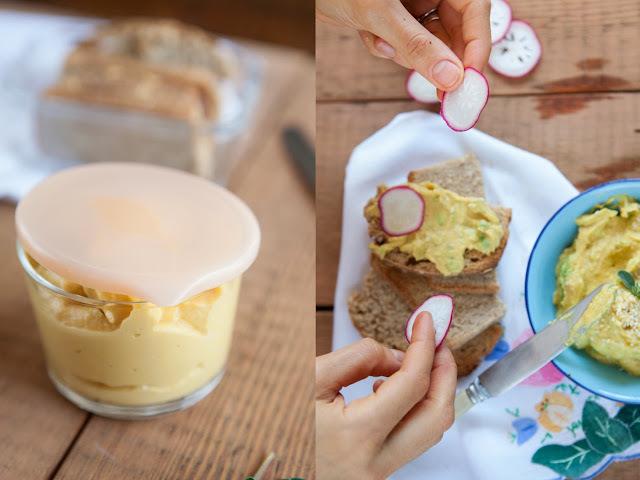 Sandwich con Hummus y Germinados {Ventanas Verdes}