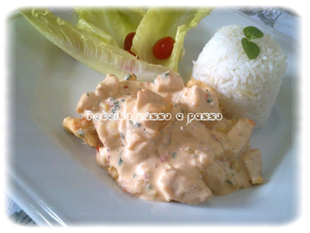 Frango com requeijão ao forno / Chicken and Cream Cheese in the Oven