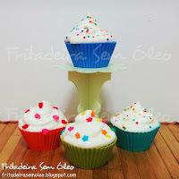 cupcake receita chocolate molhadinho
