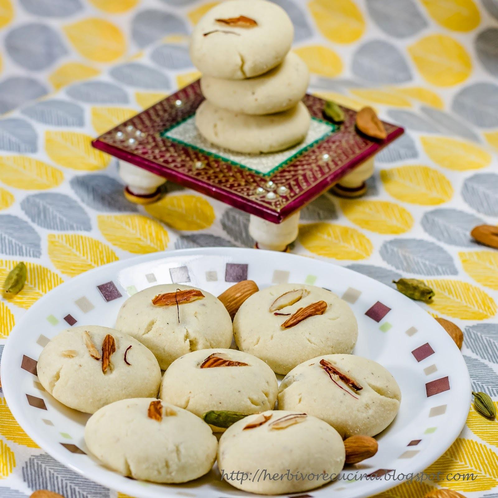 Almond Cardamom Cookies
