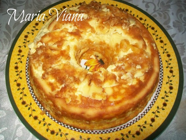 Bolo cremoso de milho: receita enviada por Maria Viana
