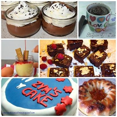 6 recetas dulces y fáciles hechas en microondas