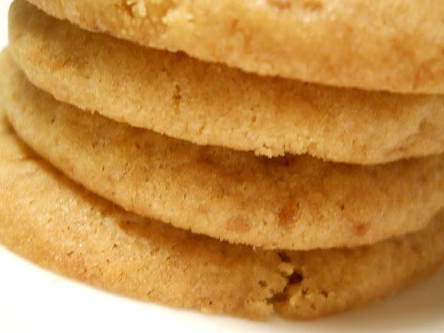 Biscuits au beurre noisette, sucre muscovado et fleur de sel