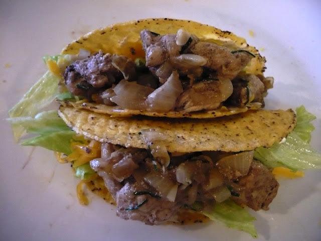 Tacos de poulet mariné à la Guinness