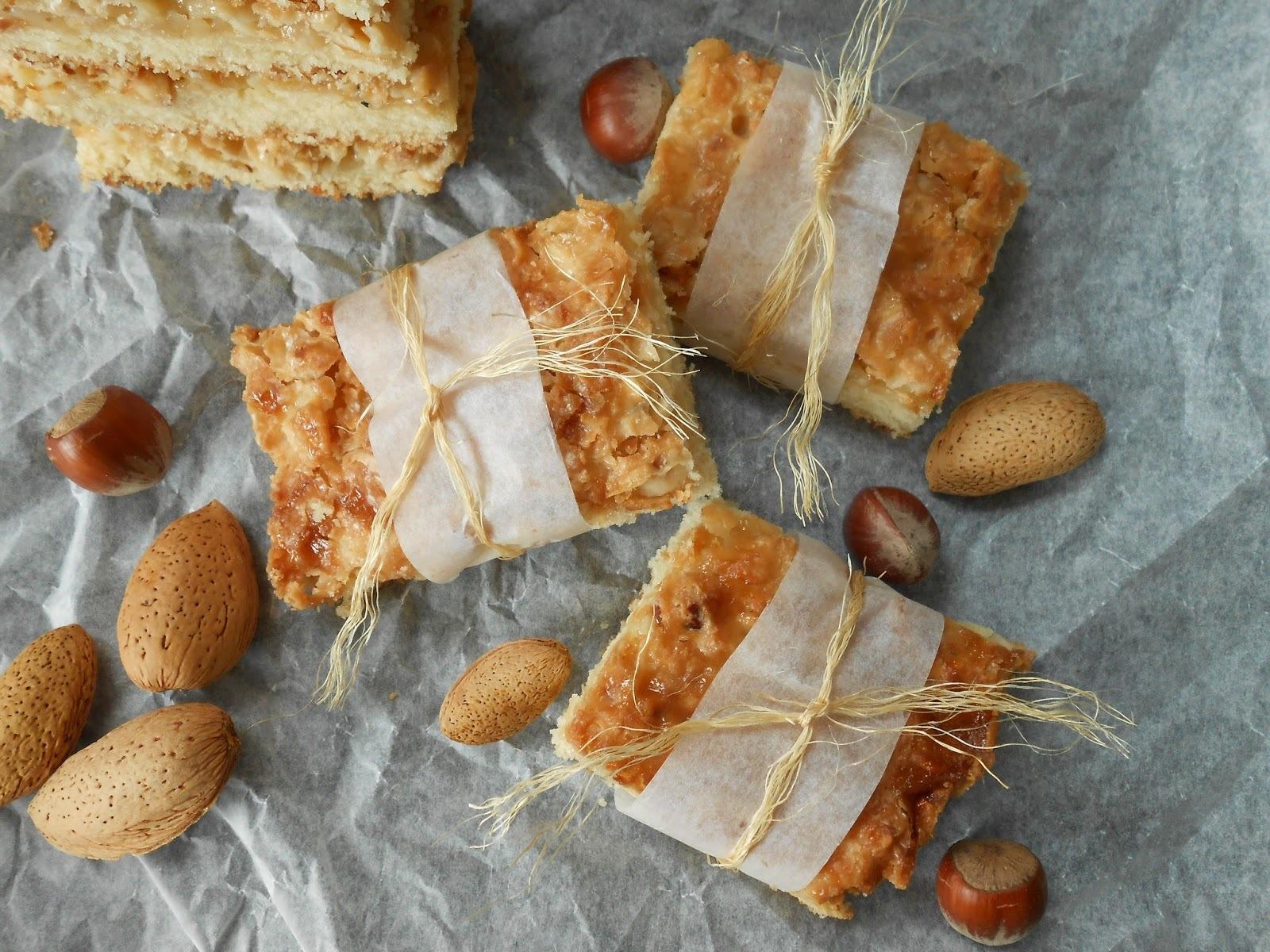 Mjuk Toscakaka (Swediss caramel almond cake)