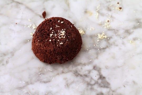 queques de chocolate y beterraga, + una petición