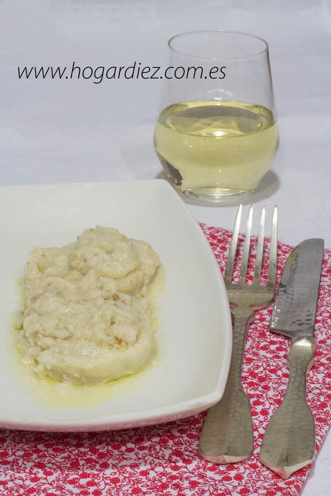 Merluza con salsa de almendras en Chef o Matic Pro