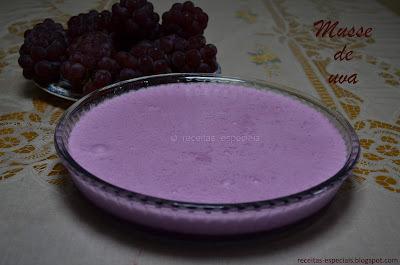 Musse de uva