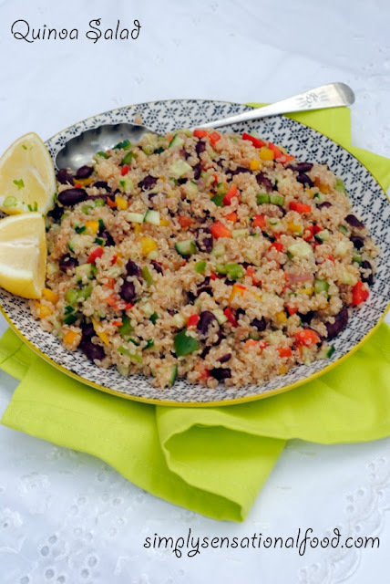 Quinoa Salad ~Secret Recipe club challenge 20th July 2015