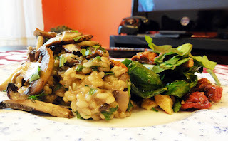30 minutes meals: Oozy Mushroom Risotto