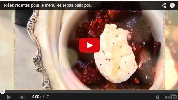 Idées, recettes pour le menu, les repas de seder de Rosh Hachana