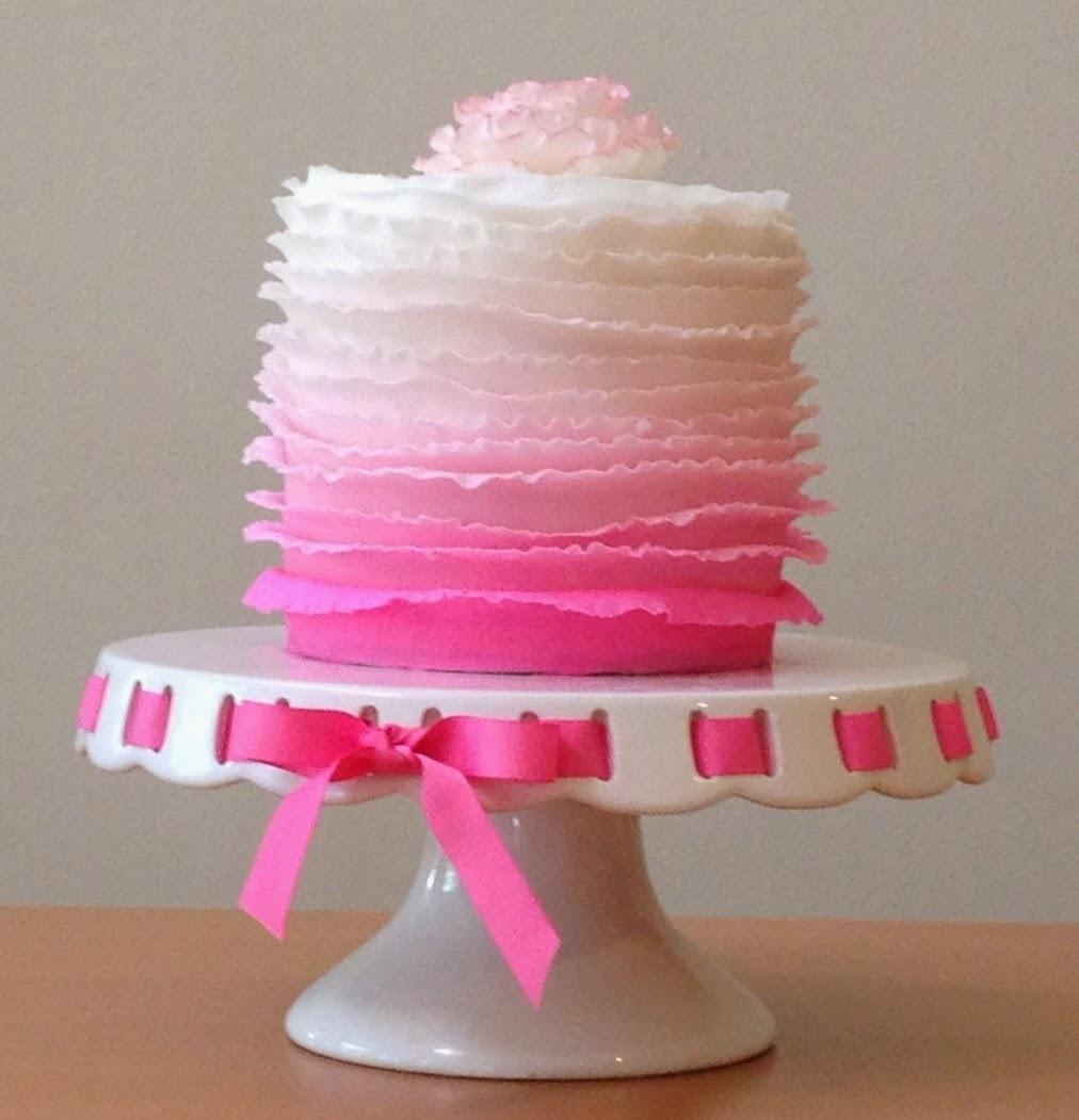 Como fazer: bolo com babados