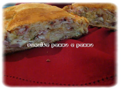 Pão de Presunto, Queijo, Tomate Seco e Ervas / Ham, Cheese, Dried Tomatoes and Herbs Bread